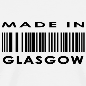 Made in Glasgow Buttons - Men's Premium T-Shirt