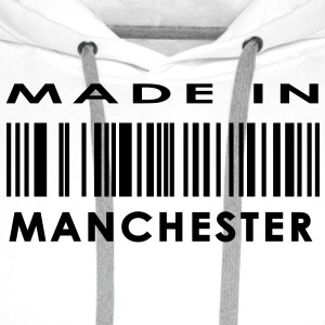 Made in Manchester Buttons - Men's Premium Hoodie