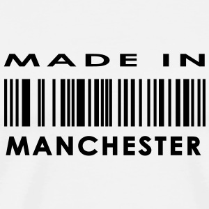 Made in Manchester Buttons - Men's Premium T-Shirt