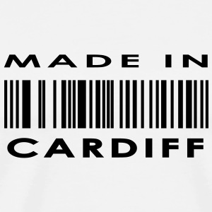 Made in Cardiff Buttons - Men's Premium T-Shirt
