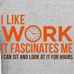 I Like Work 1 (2c)++ Gensere - Slim Fit T-skjorte for menn
