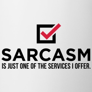 Sarcasm Is Just One 1 (dd)++ T-shirts - Mugg