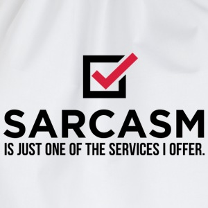 Sarcasm Is Just One 1 (dd)++ T-shirts - Sac de sport léger