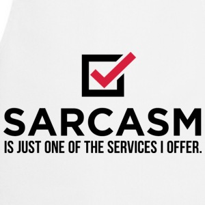 Sarcasm Is Just One 1 (dd)++ Sweaters - Keukenschort