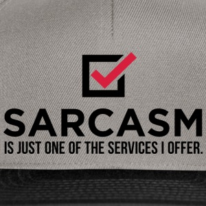 Sarcasm Is Just One 1 (dd)++ Sweaters - Snapback cap