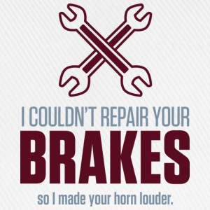 Repair Your Brakes 2 (dd)++ T-shirts - Basebollkeps