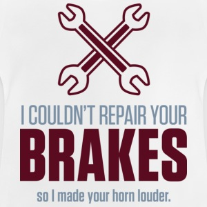 Repair Your Brakes 2 (dd)++ Kids' Shirts - Baby T-Shirt
