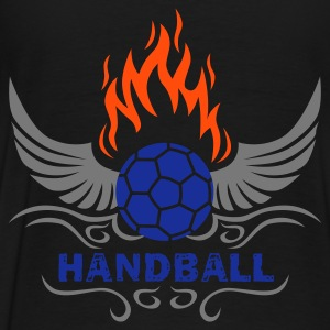 HANDBALL mit Fluegeln Hoodies & Sweatshirts - Men's Premium T-Shirt