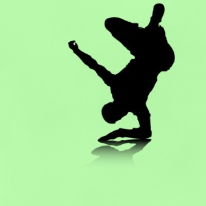 Breakdancer (on elbow) - Baby T-Shirt