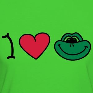 I love frogs Pullover bambini - T-shirt ecologica da donna