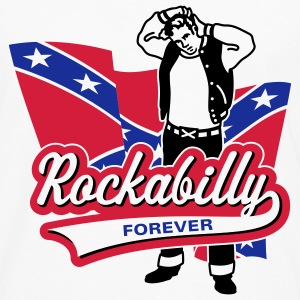 Rockabilly Forever, T-Shirt - T-shirt manches longues Premium Homme