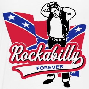 Rockabilly Foreve, Hoodie - Men's Premium T-Shirt