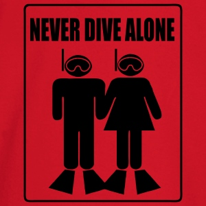 Never Dive Alone T-Shirts - Baby Long Sleeve T-Shirt