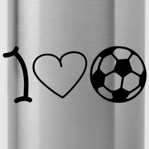 I love football Borse - Borraccia