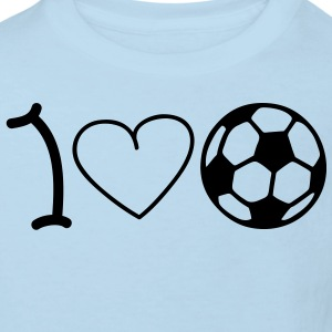 I love football Babybody - Ekologisk T-shirt barn