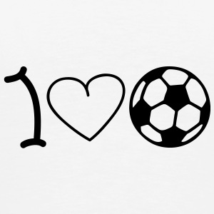 I love football Ondergoed - Mannen Premium T-shirt