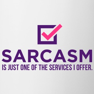 Sarcasm Is Just One 1 (2c)++ T-shirts - Mugg