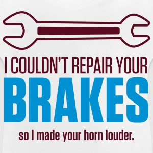 Repair Your Brakes 1 (2c)++ Kids' Shirts - Baby T-Shirt