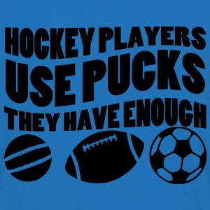 Hockey Players Use Pucks Parapluie hockey sur glace - T-shirt Homme
