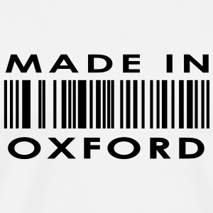 Made in Oxford Buttons - Men's Premium T-Shirt