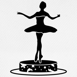 Music box with ballerina figure Mugs  - Baseball Cap