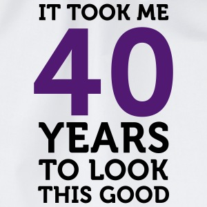 40 Years To Look Good 1 (2c)++ T-Shirts - Drawstring Bag
