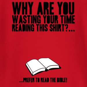 Read the bible! - Baby Langarmshirt