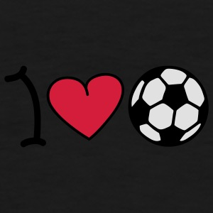 I love football Undertøy - Premium T-skjorte for menn