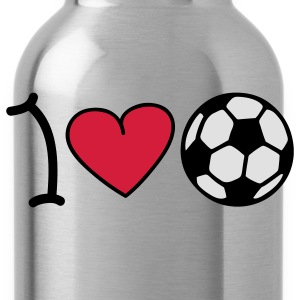 I love football Kids' Tops - Water Bottle