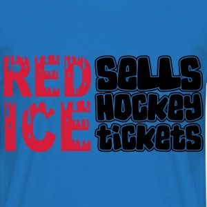 Red Ice Sells Hockey Tickets Bags  - Men's T-Shirt