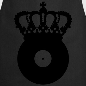 Black vinyl crown Bags  - Cooking Apron