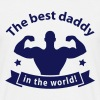 best daddy in the world T-Shirts - Men's T-Shirt