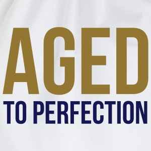 Aged To Perfection 1 (2c)++ Camisetas - Mochila saco