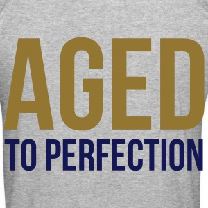 Aged To Perfection 1 (2c)++ Hoodies & Sweatshirts - Men's Slim Fit T-Shirt