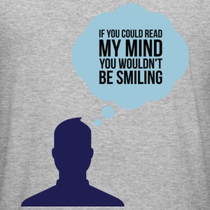If You Could Read My Mind 2 (dd)++ Gensere - Slim Fit T-skjorte for menn