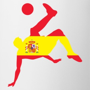 Spain soccer UK - Mug