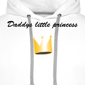 daddys little princess T-Shirts - Men's Premium Hoodie