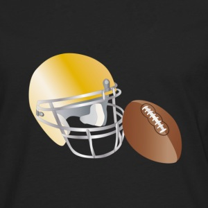 american football Tee shirts - T-shirt manches longues Premium Homme