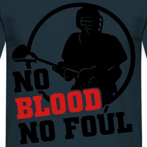 No Blood No Foul  Aprons - Men's T-Shirt