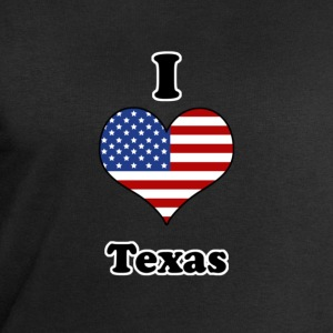 I love Texas Tee shirts - Sweat-shirt Homme Stanley & Stella