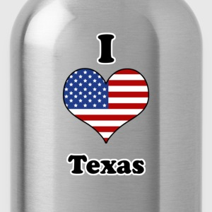I love Texas T-shirts - Drinkfles