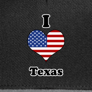 I love Texas T-shirt - Snapback Cap
