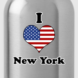 I love New York T-shirts - Drinkfles