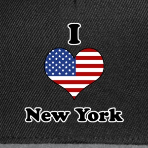 I love New York Tee shirts - Casquette snapback