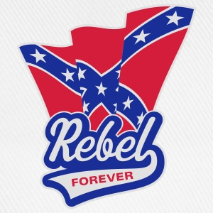Rebel Forever Flag, T-Shirt - Baseball Cap