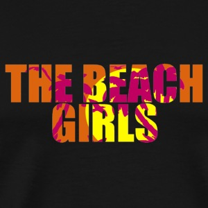 the beach girls Bags  - Men's Premium T-Shirt
