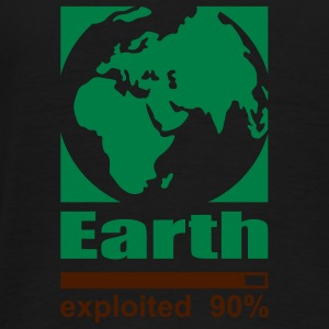 Earth exploited Sweatshirts - Herre premium T-shirt