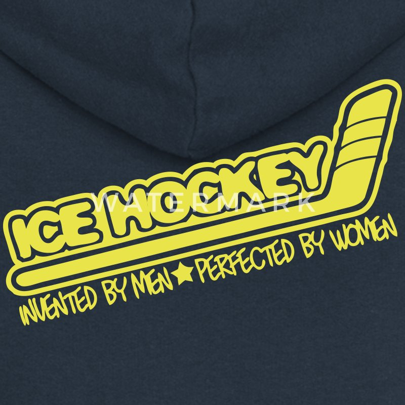 Ice Hockey Perfected By Women Coats & Jackets - Women's Premium Hooded Jacket
