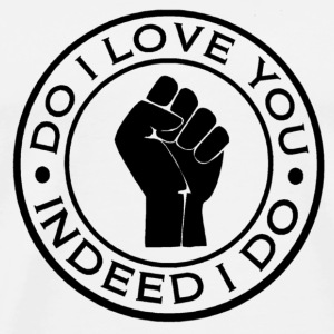 northern soul do i love you indeed i do button badge - Men's Premium T-Shirt