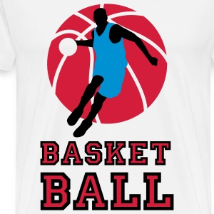 basketball_072011_m_3c  Aprons - Men's Premium T-Shirt
